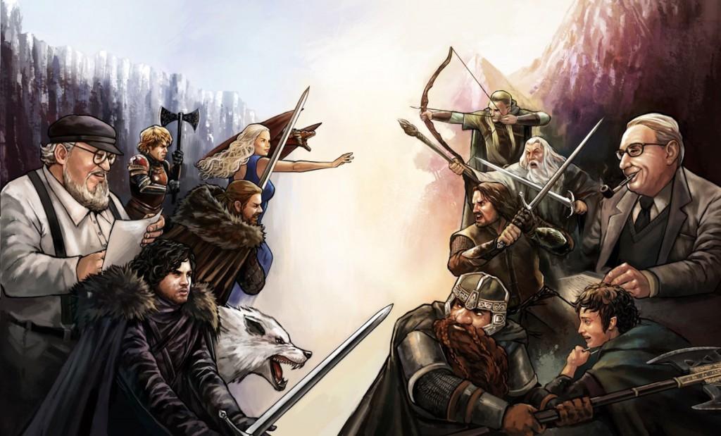Le débat entre Tolkien et Martin a-t-il lieu d'être ?