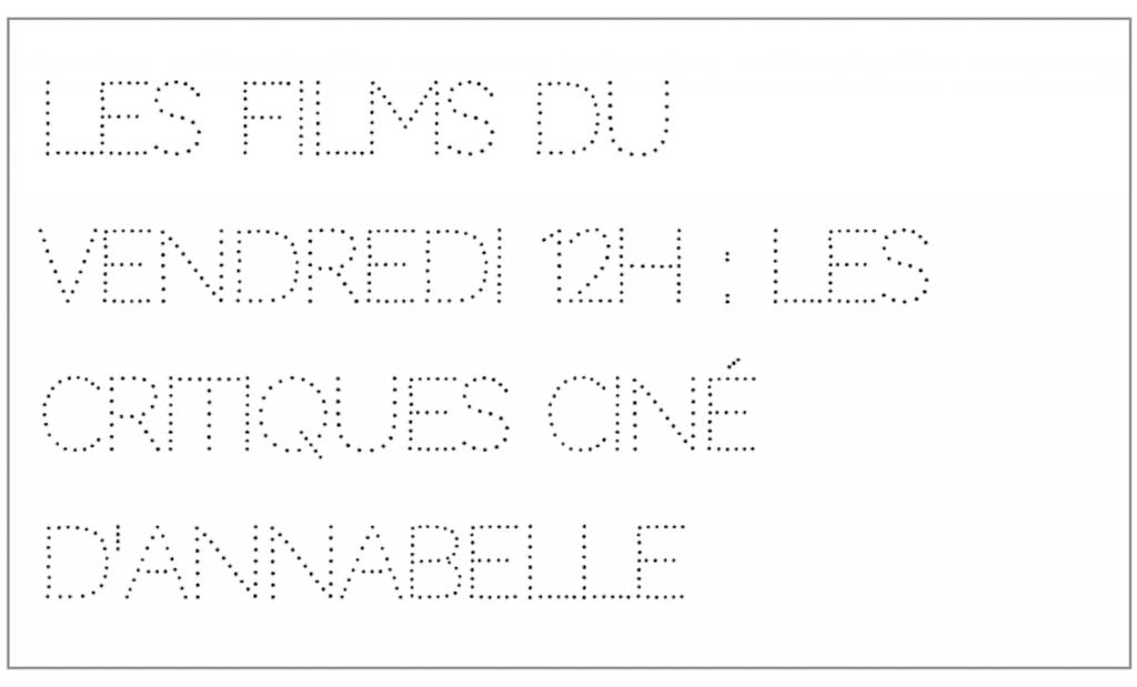 Les films du vendredi 12h : Grand Palais