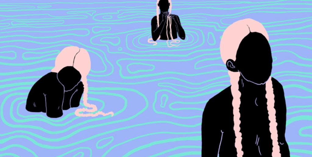 Playlist : Black lake, black boat, two black, cut-paper people (Sylvia Plath)